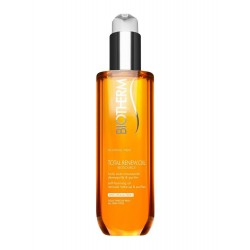 BIOTHERM - Biosource - Total Renew.Oil - Huile Auto-Moussante - Démaquille & Purifie - 200ml