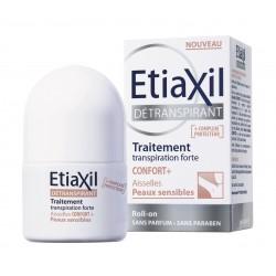 ETIAXIL Détranspirant Peaux sensibles bille 50ml