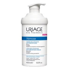 URIAGE - Xémose - Crème Relipidante Anti-Irritations - Peaux très sèches à tendance atopique - 400ml