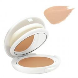 AVÈNE - Couvrance - Crème de teint compact SPF30 - Fini Mat - N°1 Porcelaine - Peaux sensibles normales à mixtes - 10g