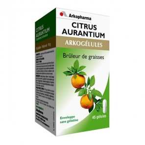 Arkopharma Arkogelules Citrus Aurantium 45 gélules