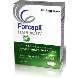 Forcapil Hair Activ 2 mois + 1 mois offert (Arkopharma)