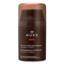 NUXE MEN - Gel Multi-fonctions Hydratant aux extraits de chêne, de baobab et acide hyaluronique - Tous types de peaux même sensi