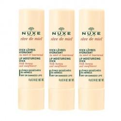 Nuxe Reve De Miel Stick lèvres lot 3X4Grs