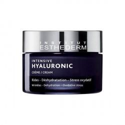 INSTITUT ESTHEDERM - intensive hyaluronic - crème - rides, déshydratation, stress oxydatif - eau cellulaire technology - 50ml