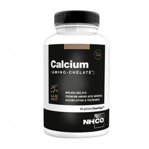Nhco calcium amino-chélate 84 gélules