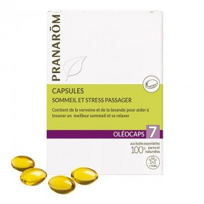Pranarôm oleocaps 7 sommeil & stress passager 30 capsules
