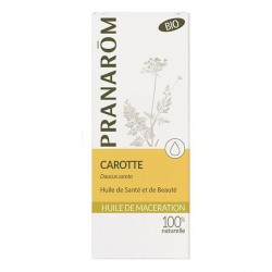 Pranarom huile végétale bio carotte 50ml