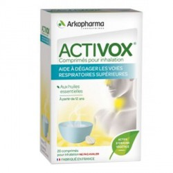 Arkopharma activox comprimés pour hinalation 20 comprimés