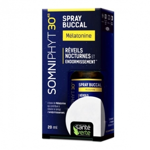 Santé Verte somniphyt mélatonine spray 20ml