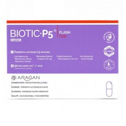 Aragan biotic P5 boite de 10 géllules