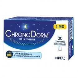 Chronodorm mélatonine 30 comprimés