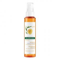 KLORANE - Nutrition - Huile de Mangue - Cheveux secs, exposés - 125ml
