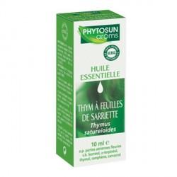 Phytosun huile essentielle thym a feuilles de sarriette 10ml