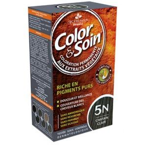 3 Chênes Color&Soin chat clair coloration permanente 5N