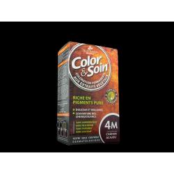 3 CHÊNES - Color & Soin - 4M Châtain acajou - Coloration permanente aux extraits végétaux