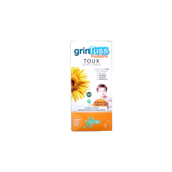 ABOCA - GrinTuss Pediatric - Sirop toux sèche et grasse - 210g