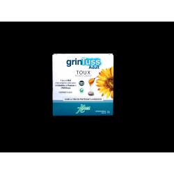 ABOCA - GRINTUSS Adulte - Toux sèche et grasse - 20 comprimés à sucer