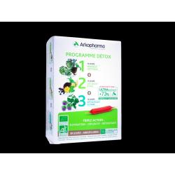 ARKOFLUIDES - Programme Détox Triple Action - 30 ampoules