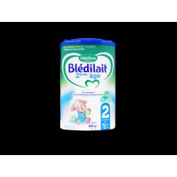 BLÉDILAIT 2 - 2ème âge - Accompagne la diversification alimentaire - 6 à 12 mois - 800G