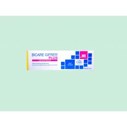 GIFRER - BICARE PLUS - Dentifrice - Goût menthol - 75ML