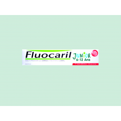 FLUOCARIL - JUNIOR 6-12 ANS - Dentifrice gel goût Fruits rouges - 75ML