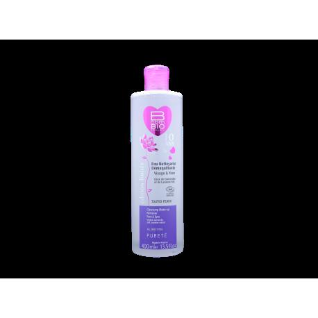 B COM BIO PURETÉ - eau nettoyante/démaquillante -tous types de peaux - 400ml