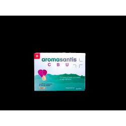 SANTISPHARMA - AROMASANTIS - CBU - Infections urinaires, Cystites - Complexe d'huiles essentielles et oligo-éléments - 15 capsul