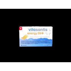 SANTISPHARMA - VITASANTIS - Energy IM+ - Stimulation physique et intellectuelle - Complexe phytothérapie, vitamines et oligo-élé