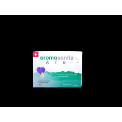 SANTISPHARMA - AROMASANTIS - ATB - Diarrhées, Infections aigues - Complexe d'huiles essentielles et oligo-éléments - 15 capsules