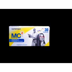 SYNERGIA - MC2 - Mémoire et concentration - 30 comprimés