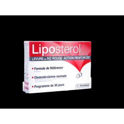 LIPOSTEROL - Levure de Riz Rouge - Action renforcée - 30 comprimés