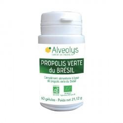 ALVEOLYS - Propolis Verte du Brésil Bio - 60 gélules