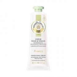 ROGER & GALLET - Amande - Crème Mains et Ongles Nourrissante, Adoucissante, Protectrice - 30ml