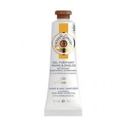 ROGER & GALLET - Bois d'orange - Gel Purifiant Mains et Ongles Nettoyant, Parfumant, Hydratant - 30ml