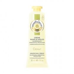 ROGER & GALLET - Cédrat - Crème Mains et Ongles Nourrissante, Adoucissante, Protectrice - 30ml