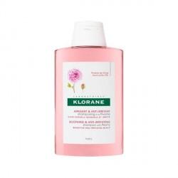 KLORANE - Apaisant et Anti-irritant - Shampooing à la Pivoine - Cuire chevelu sensible et irrité - 2x400ml
