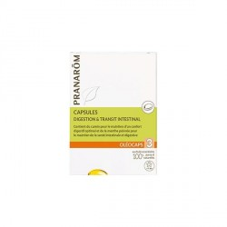 PRANARÔM - Oléocaps 3 - Digestion & Transit Intestinal - 30 capsules