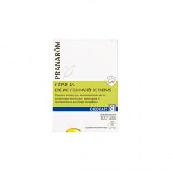 PRANARÔM - Oléocaps - Drainage & Détoxination - 30 capsules