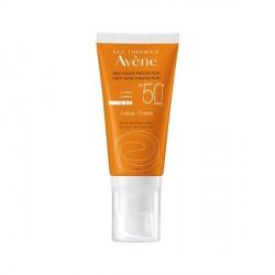AVÈNE - Crème solaire très haute protection SPF50 - Peaux sensibles sèches - 50ml