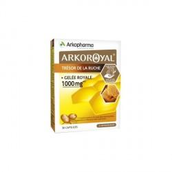 ARKOPHARMA - Arkoroyal - Trésor de la ruche - Gelée royale 1000mg - 30 capsules