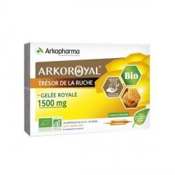 ARKOPHARMA - Arkoroyal - Gelée royale 1500mg - 20 x 10ml