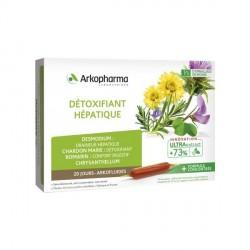 ARKOPHARMA - Arkofluides - Détoxifiant hépatique - 20 ampoules