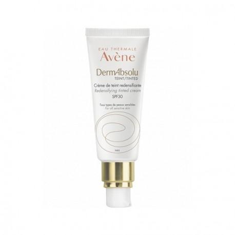 AVÈNE - Dermabsolu Teint - Crème de teint redensifiante SPF30 - Tous types de peaux sensibles - 40ml