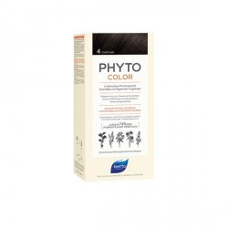 PHYTO - phytocolor - coloration permanente - 4 châtain - 112ml