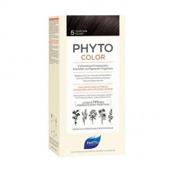 PHYTO - Phytocolor - Coloration permanente - 5 châtain clair - 112ml