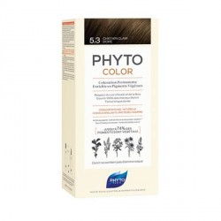 PHYTO - Phytocolor - Coloration permanente - 5.3 châtain clair - 112ml