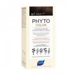 PHYTO - Phytocolor - Coloration permanente - 5.7 châtain clair - 112ml
