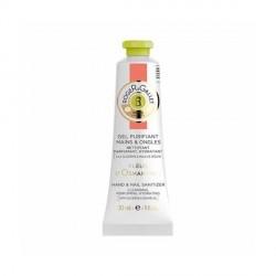 ROGER & GALLET - Fleurs d'Osmanthus - Gel Purifiant Mains et Ongles Nettoyant, Parfumant, Hydratant - 30ml