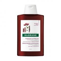 KLORANE - Fortifiant et Stimulant - Shampooing à la Quinine et aux Vitamines B - Chute de cheveux, cheveux fatigués - 2x400ml